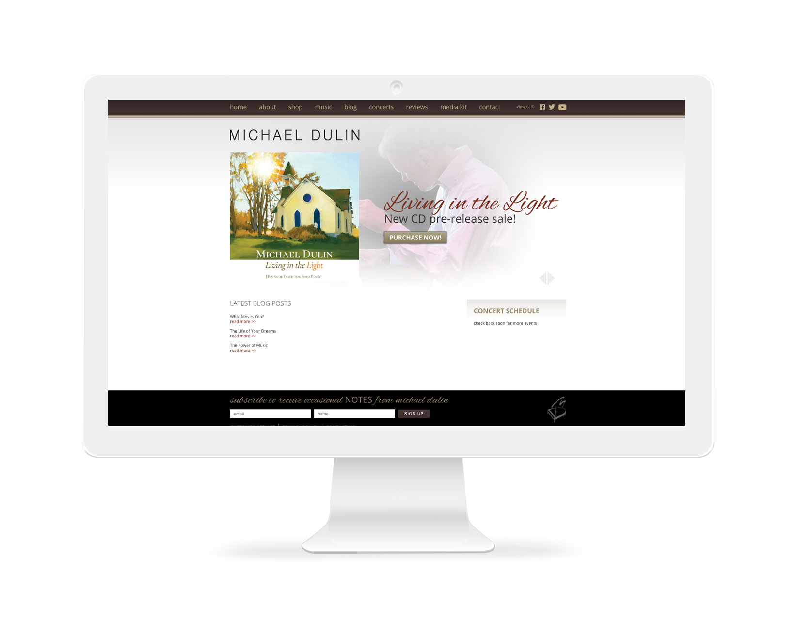 Musician Websites Alabama