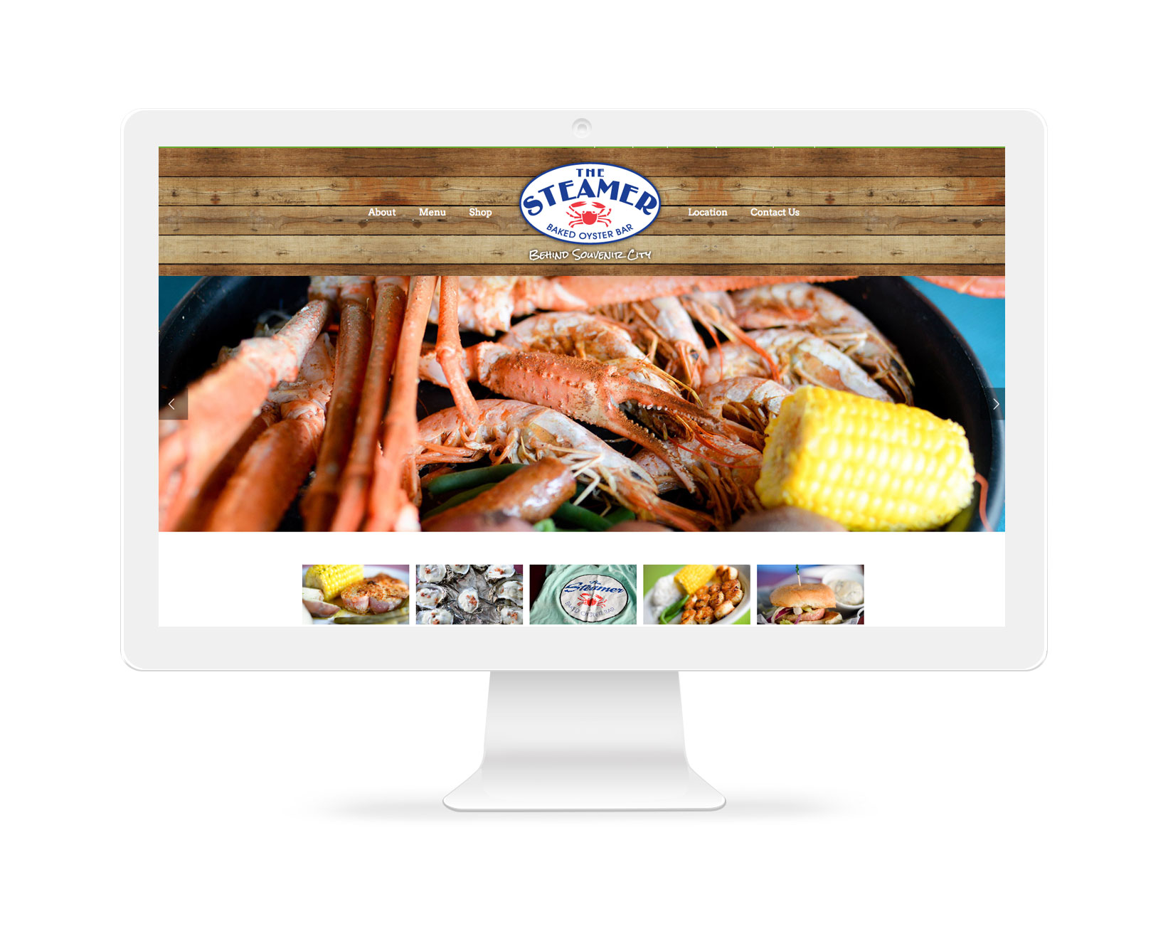 Restaurant Website Design Alabama